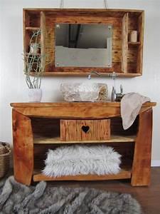 Badmöbel Vintage Style : ein badm bel rustikal im gem tlichen chalet stil wasserheimat ~ Indierocktalk.com Haus und Dekorationen