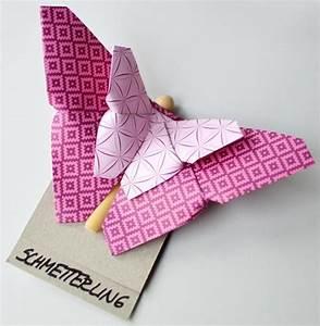 Origami Schmetterling Anleitung : diy butterfly schmetterling origami paper papier falten mit anleitung basteln mit papier ~ Frokenaadalensverden.com Haus und Dekorationen
