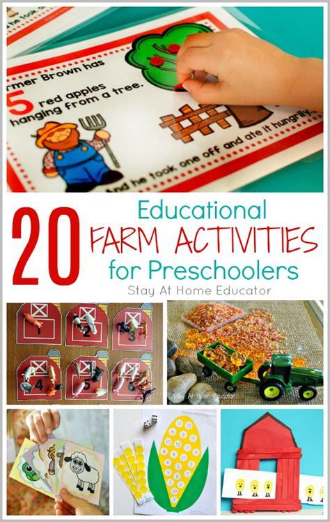 20 Fun and Educational Preschool Farm Activities