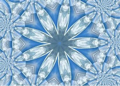 Kaleidoscope Snowflake Giphy Gifs Aim4beauty Animated Deviantart