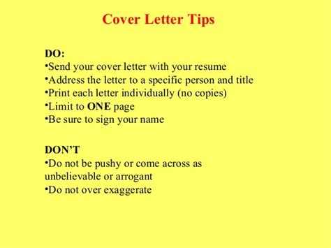 Resume Cover Letters That Get Noticed by Resume And Cover Letter Tips That Are Sure To Get You Noticed