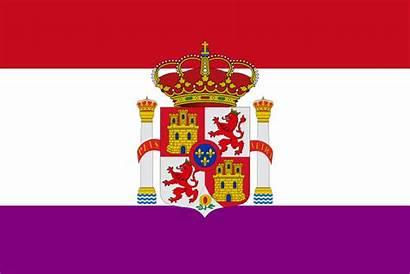 Flag Castile Leon United Aragon Arms Coat