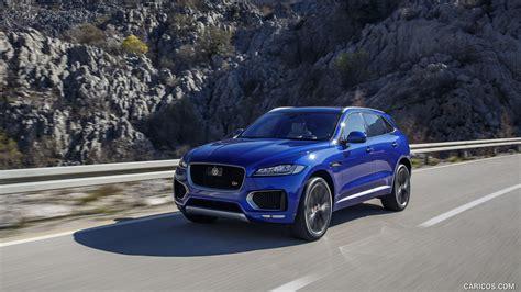 2017 Jaguar F Pace S Color Caesium Blue Front Hd