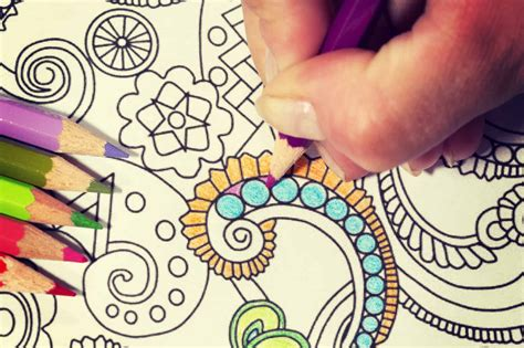printable abstract coloring pages relieve stress    meditate
