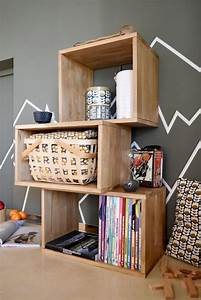 Cube De Rangement : comment faire un cube de rangement en bois be frenchie ~ Farleysfitness.com Idées de Décoration