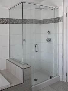 Douche Mur Verre : douches en verre services univers du verre ~ Zukunftsfamilie.com Idées de Décoration