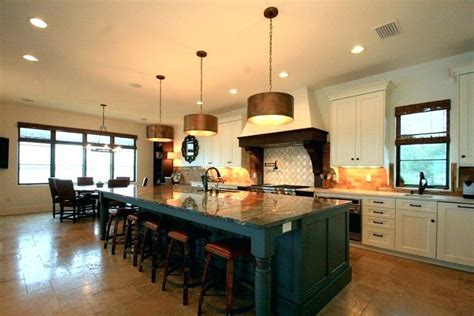 6 Foot Kitchen Island Large Kitchen Islands With Seating