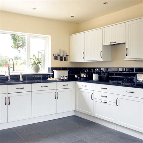 white and black kitchens black and white kitchen kitchen design decorating ideas ideal home