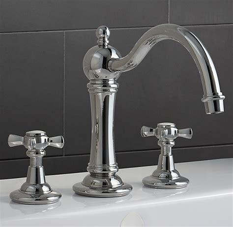 vintage deckmount roman tub faucet set