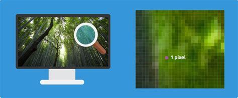 petit bureau informatique ecrans résolution et pixels cours informatique gratuit
