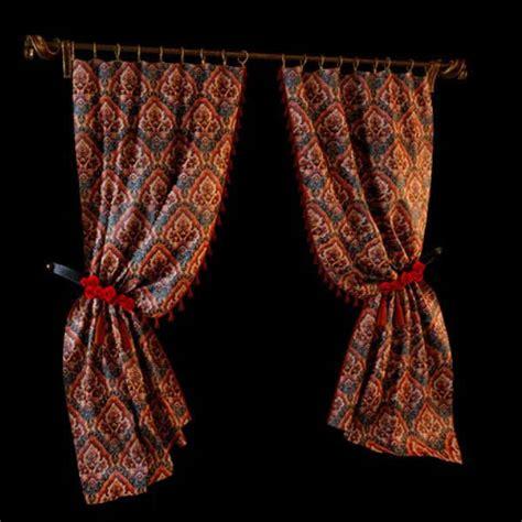drapery curtain fabric  model dsmax files