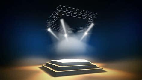 illuminated  stage   stock footage video