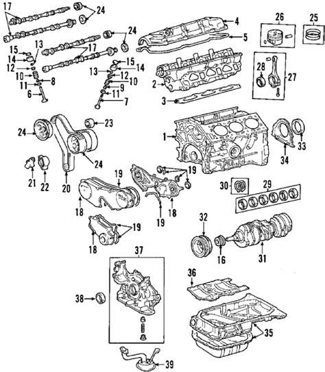 Toyotum Highlander V6 Engine Diagram by Parts 174 Toyota Engine Camshaft Timing Camshaft Gear