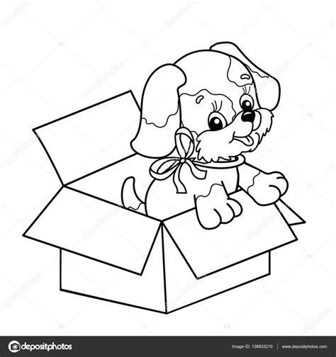 Kleurplaat Schattige Puppies by Kleurplaat Pagina Overzicht Schattige Puppy In Vak