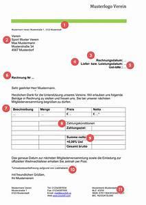 Was Muss Auf Einer Rechnung Stehen : musterrechnung verein gratis downloaden everbill magazin ~ Themetempest.com Abrechnung