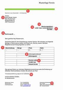 Reverse Charge Rechnung Muster : musterrechnung verein gratis downloaden everbill magazin ~ Themetempest.com Abrechnung