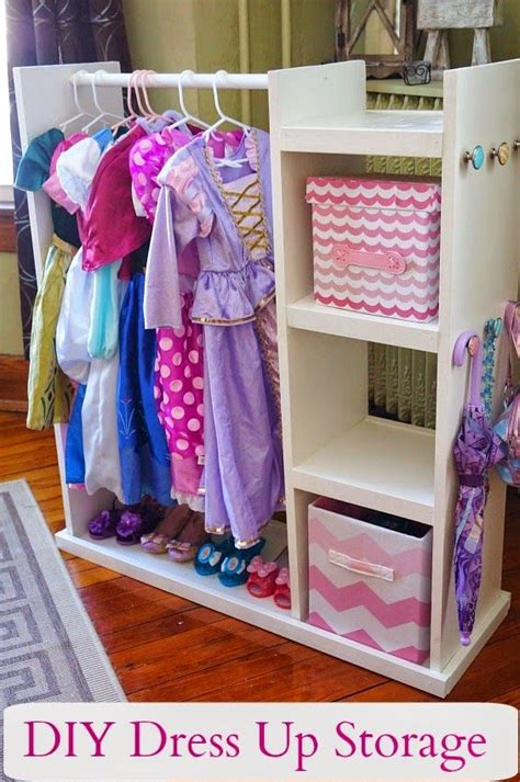 toddler dress up closet diy dress up storage center stockage de d 233 guisement