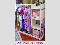 DIY Dress Up Storage Center Stockage de déguisement