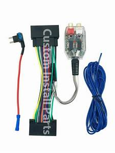 Factory Radio Amp Amplifier Interface Adapter Wiring Wire