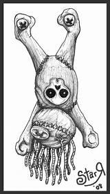 Drawing Tattoo Ragdoll Doll Voodoo Deviantart Rag Drawings Coloring Dolls Pages Sketches Tattoos Skull Adult Graffiti Creepy Cartoon Evil Designs sketch template