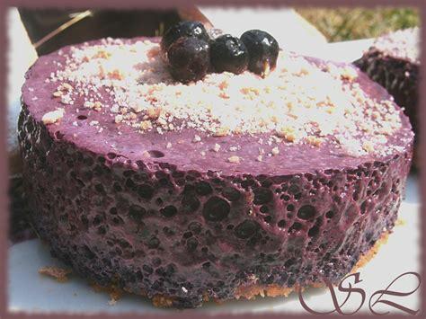 mousse 224 la myrtille sur biscuits roses saveurs loz 233 riennes