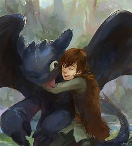 hiccup & toothless - How to Train Your Dragon Fan Art ...