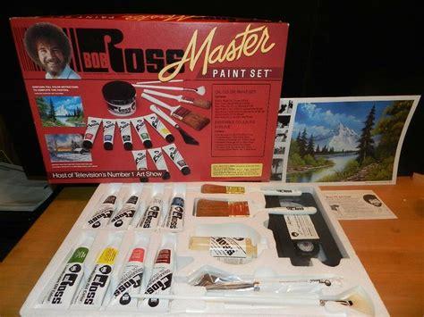 New Bob Ross Master Paint Set Oil Color Complete W