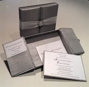 Silk invitation boxes and silk invitations my invite to for Box wedding invitations australia