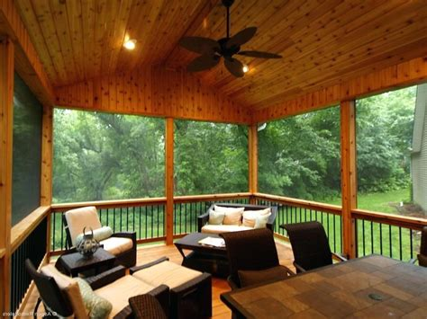 screened in porch lighting ideas porches ideas
