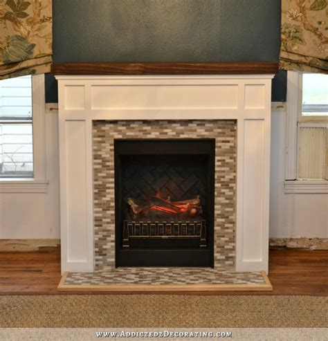 fireplace makeover  craftsman  traditional
