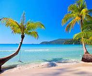 Tropical Island Beach Vacation