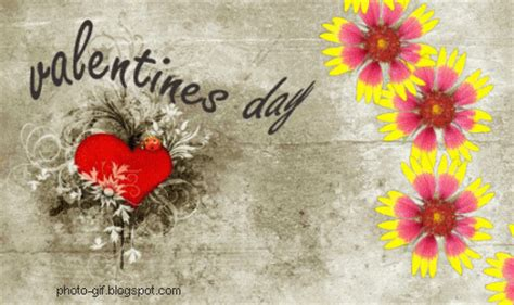 Valentine Flower Card Messages