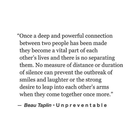 Deep Connections Quotes