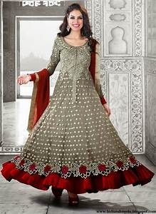 Long Designer Wedding Anarkali Dresses 2014 - Beautiful ...