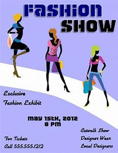 fashion show flyer template large view With fashion flyers templates for free