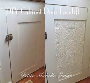 Cabinet Doors Facelift diy cabinet door facelift using as a lift on solid