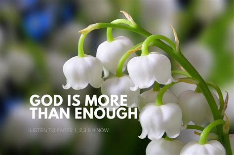 God Is More Than Enough, Part 1 - Dr. Ty Dixon