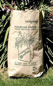 Sac A Dechet Vert : sac papier 100 l pour d chets verts 1 feuilles destockage ~ Dailycaller-alerts.com Idées de Décoration