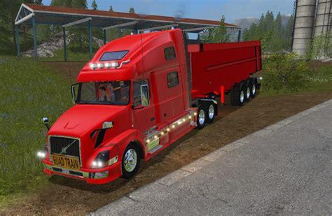 volvo trailer truck volvo 780 and trailer mod farming simulator 2017 17 ls mod