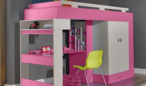 bureau a vendre pas cher lit enfant avec bureau et rangement vera mobilier