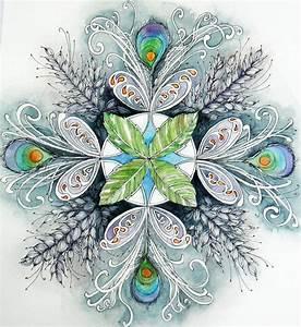 Peacock Mandala | Mandala painting and Peacocks