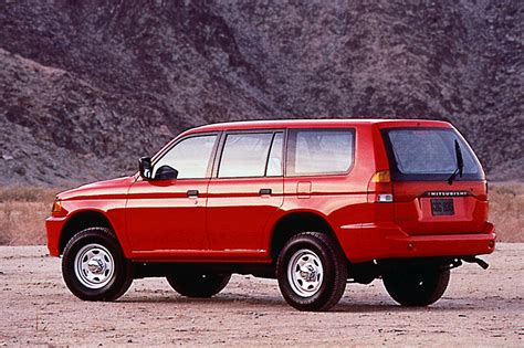 03 Mitsubishi Montero Sport by 1997 04 Mitsubishi Montero Sport Consumer Guide Auto