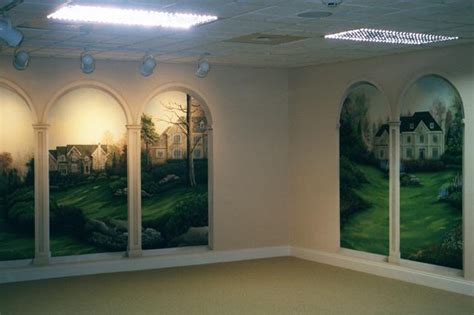 trompe l oeil arches in wyomissing trompe l oeil and murals painted by effects