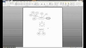 Er Diagram In Ms Word Part 6