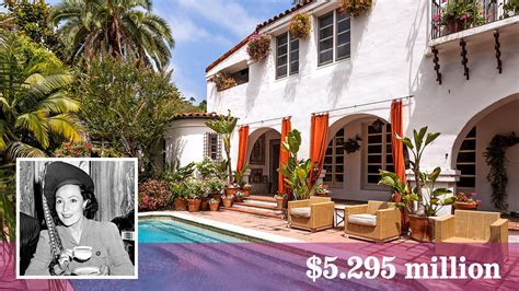 Early Dolores del Rio home for sale in Hollywood Hills