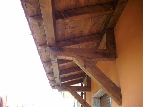 tettoia per esterno pensiline in legno bergamo como varese lombardia