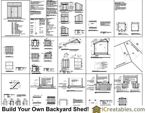 8x8 shed floor plans 8x8 saltbox shed plans saltbox shed storage shed plans