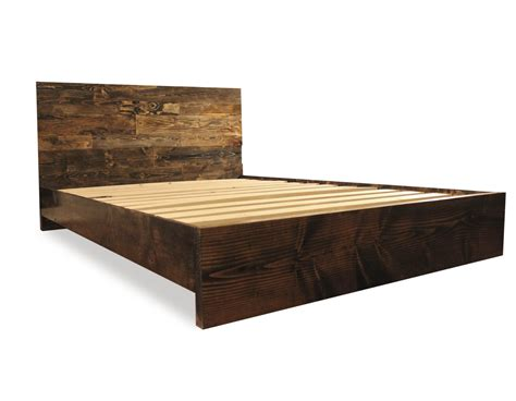 wood and fabric headboards solid wood simple platform bed frame home living by