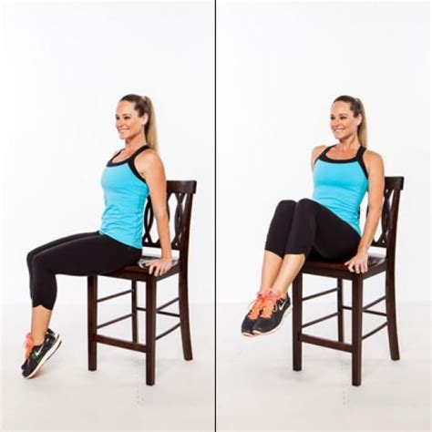 exercice chaise abs workout stand up for a flat stomach