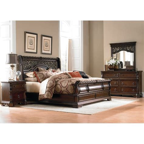 king bedroom sets arbor place 6 cal king bedroom set